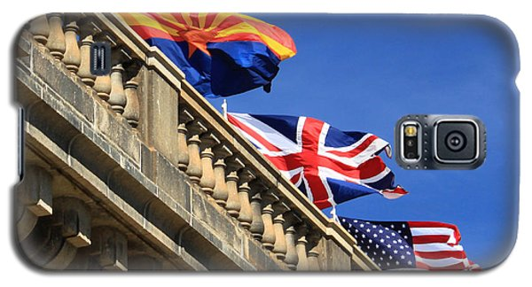Three Flags At London Bridge Galaxy S5 Case