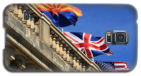 Three Flags At London Bridge Galaxy S5 Case