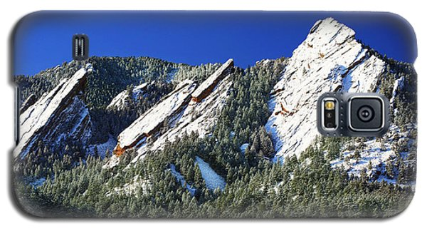 Three Flatirons Galaxy S5 Case by Marilyn Hunt