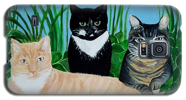 Three Furry Friends Galaxy S5 Case