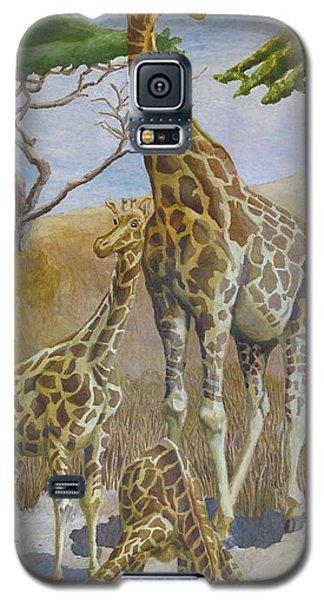 Three Giraffes Galaxy S5 Case