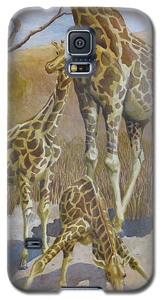 Three Giraffes Galaxy S5 Case