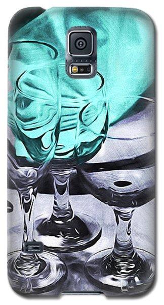 Three Glass Illusion Galaxy S5 Case