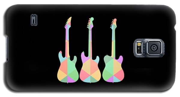 Three Guitars Triangles Tee Galaxy S5 Case