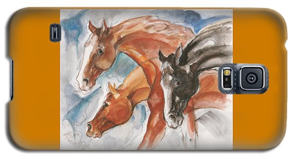 Three Horses Galaxy S5 Case by Mary Armstrong