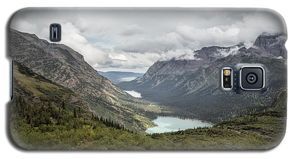 Three Lakes Viewed From Grinnell Glacier Galaxy S5 Case