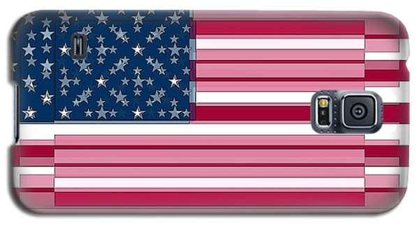 Three Layered Flag Galaxy S5 Case