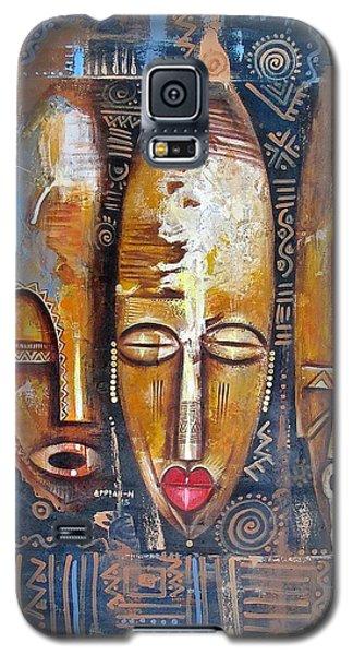 Three Masks Galaxy S5 Case