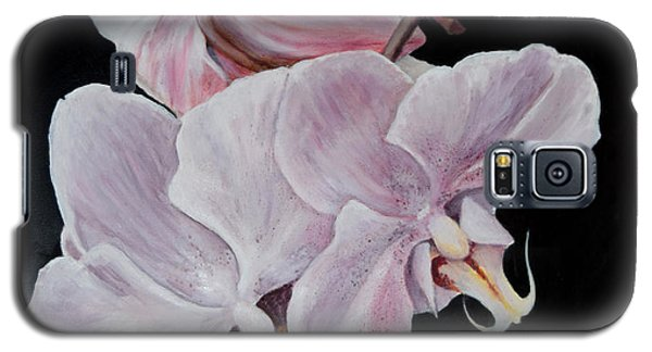 Three Orchids Galaxy S5 Case by Sandra Nardone
