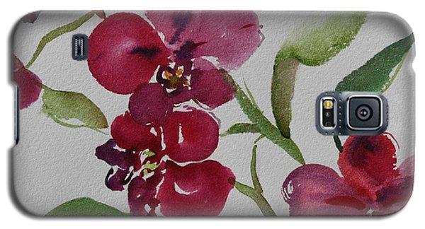 Three Orchids Galaxy S5 Case