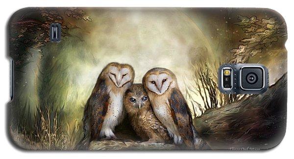 Three Owl Moon Galaxy S5 Case by Carol Cavalaris