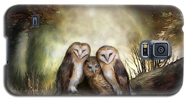 Three Owl Moon Galaxy S5 Case