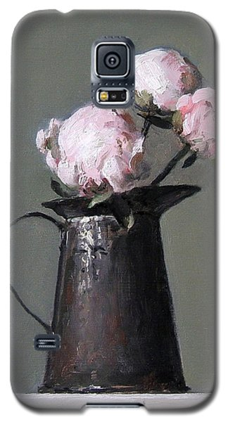 Three Peony Buds In Old Tin Can Galaxy S5 Case
