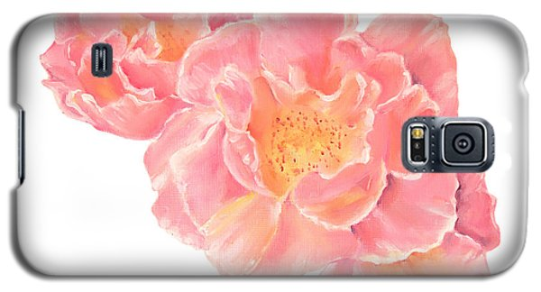 Three Pink Roses Galaxy S5 Case