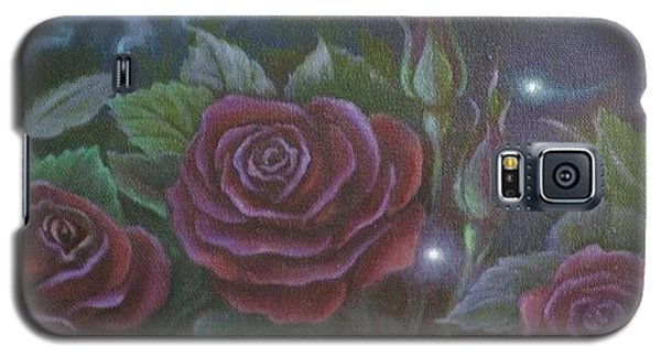 Three Red Roses Galaxy S5 Case