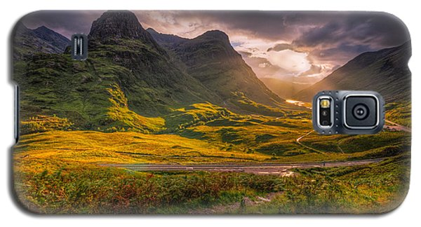 Three Sisters Of Glencoe Galaxy S5 Case
