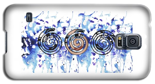 Three Spirals Galaxy S5 Case