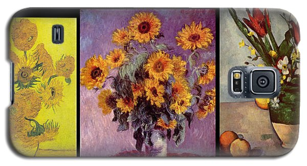 Three Vases Van Gogh - Cezanne Galaxy S5 Case
