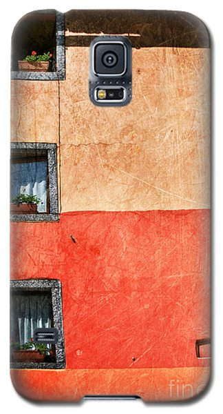 Three Vertical Windows Galaxy S5 Case