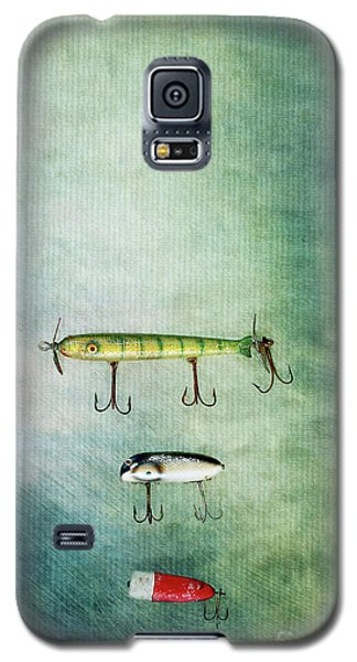 Three Vintage Fishing Lures Galaxy S5 Case