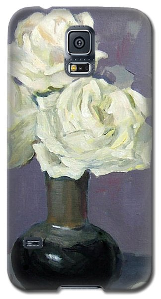 Three White Roses,abstract Background Galaxy S5 Case