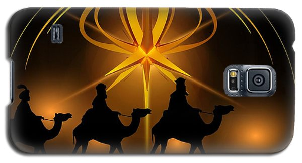 Three Wise Men Christmas Card Galaxy S5 Case