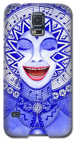 Throat Chakra Galaxy S5 Case