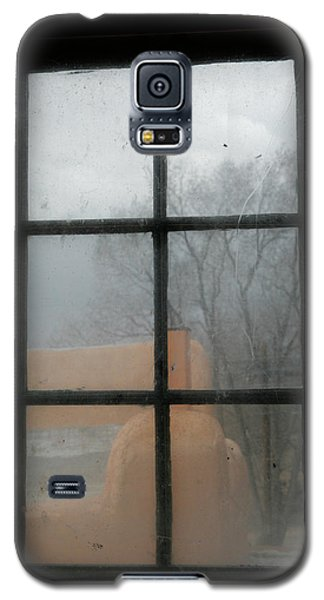 Galaxy S5 Case featuring the photograph Through A Museum Window by Marilyn Hunt