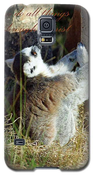 Through Christ Galaxy S5 Case