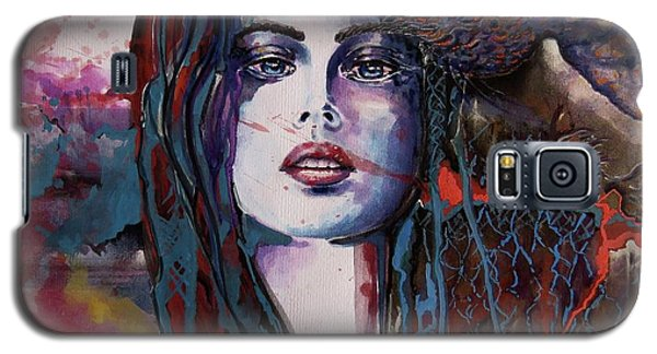 Through My Mind Galaxy S5 Case by Geni Gorani