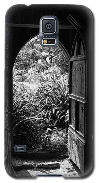 Galaxy S5 Case featuring the photograph Through The Door by Clare Bambers