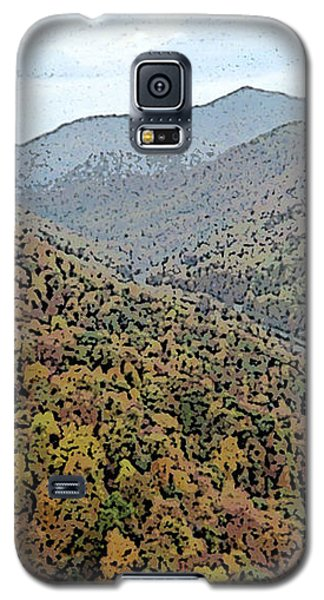 Galaxy S5 Case featuring the photograph Through The Mountains by Skyler Tipton
