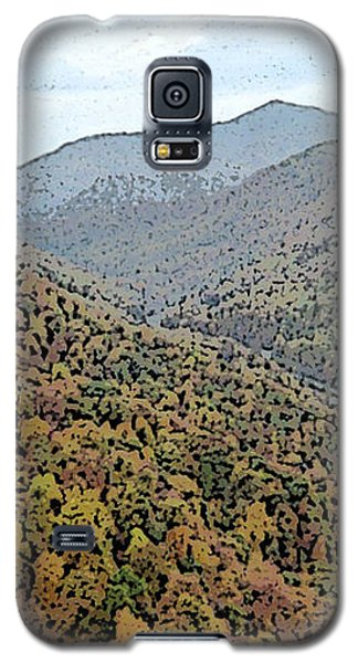 Through The Mountains Galaxy S5 Case by Skyler Tipton