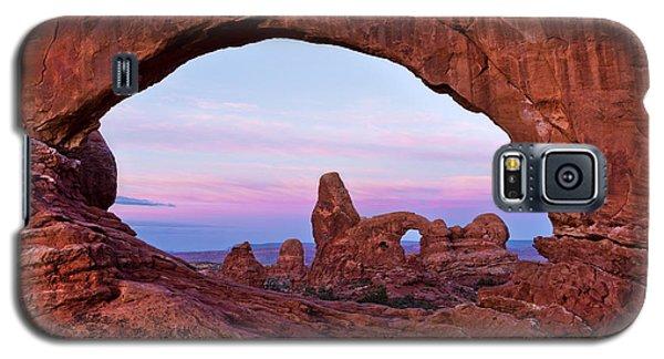 Through The North Window Galaxy S5 Case