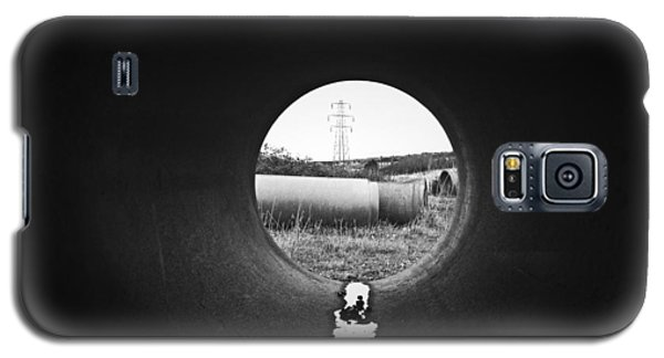 Through The Pipe Galaxy S5 Case by Keith Elliott