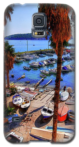 Through The Trees Dubrovnik Harbour Galaxy S5 Case