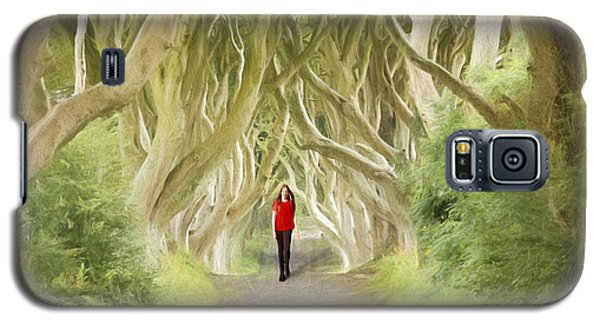 Galaxy S5 Case featuring the photograph Through The Trees by Roy  McPeak