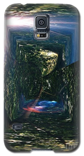 Through The Trees Galaxy S5 Case