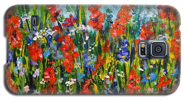 Through The Wild Flowers Galaxy S5 Case