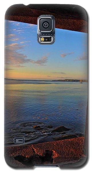 Through The Window Galaxy S5 Case