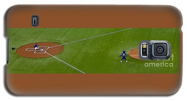 Throwing The First Pitch Galaxy S5 Case