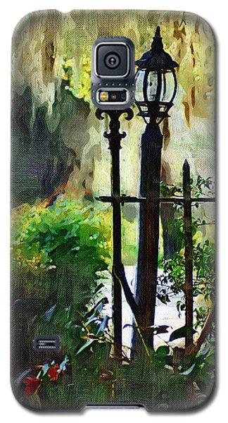 Galaxy S5 Case featuring the digital art Thru The Gate by Donna Bentley