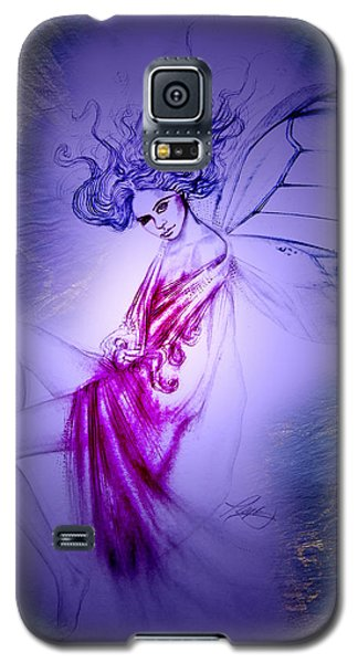 Galaxy S5 Case featuring the painting Thumbelina by Ragen Mendenhall
