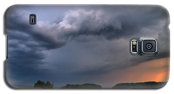 Galaxy S5 Case featuring the photograph Thunder At Siuro by Jouko Lehto