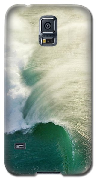 Helicopter Galaxy S5 Case - Thunder Curl by Sean Davey