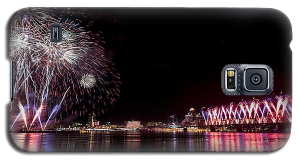 Thunder Over Louisville Galaxy S5 Case by Andrea Silies