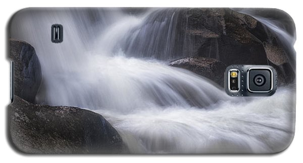 Galaxy S5 Case featuring the photograph Thundering River by Tim Reaves