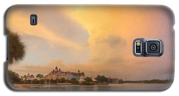 Thunderstorm Over Disney Grand Floridian Resort Galaxy S5 Case