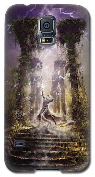 Thunderstorm Wizard Galaxy S5 Case
