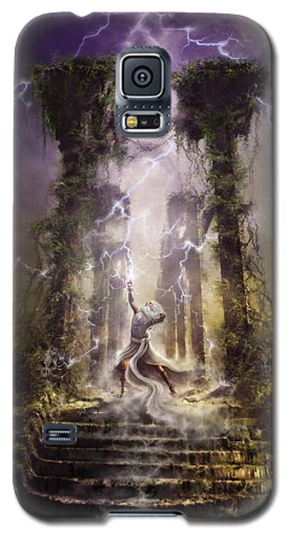 Thunderstorm Wizard Galaxy S5 Case